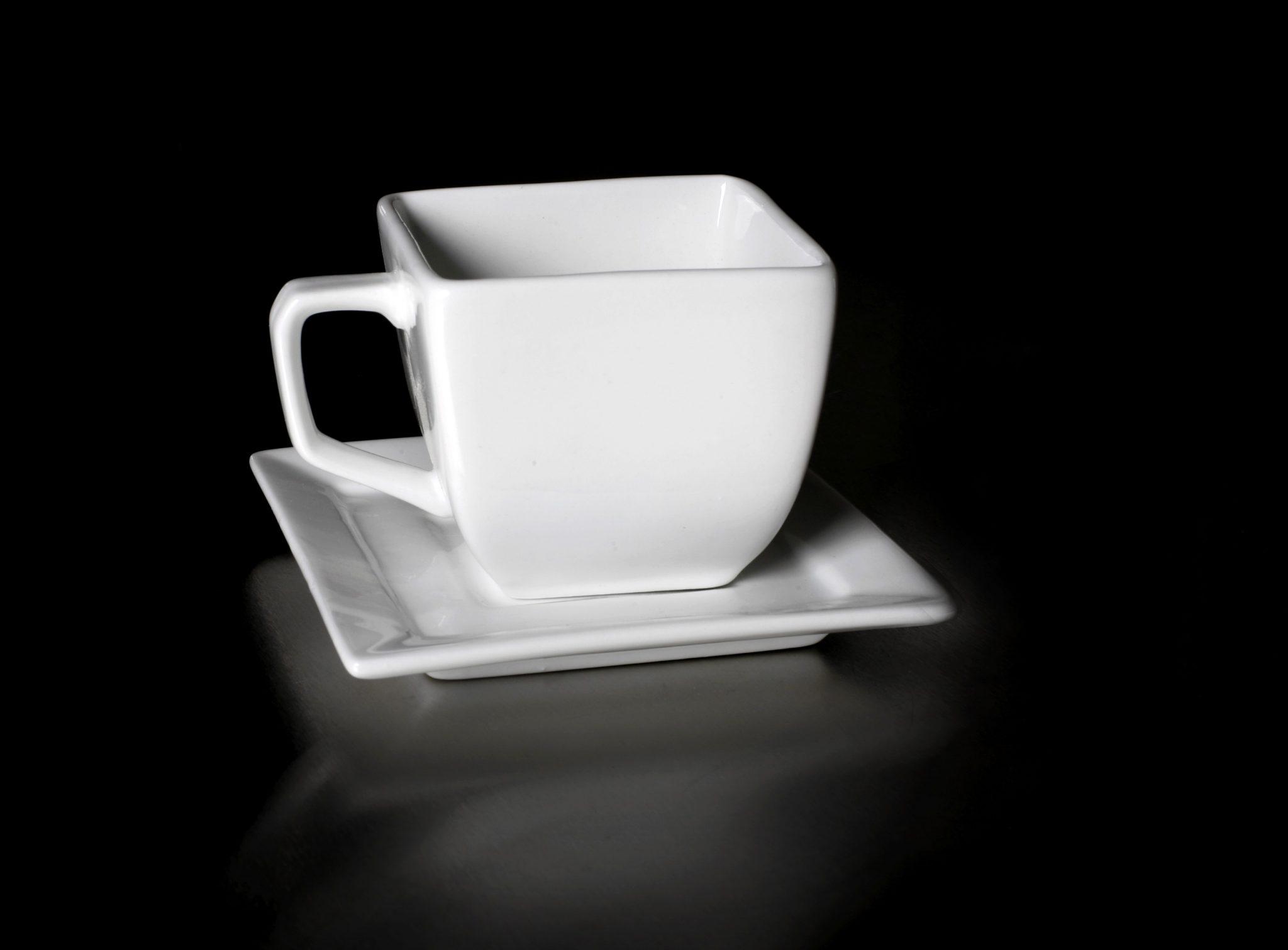 Ceasca de cafea patrata